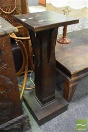 Sale 8500 - Lot 1202 - Timber Plant Stand