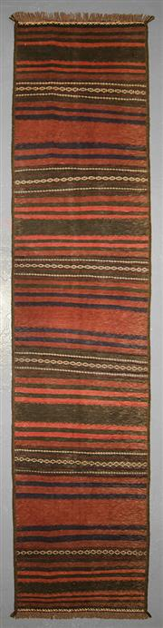 Sale 8539C - Lot 79 - Persian Kilim 288cm x 70cm