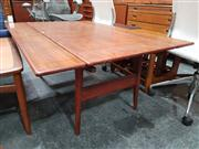 Sale 8741 - Lot 1052 - Good Quality Danish Trioh Teak Metamorphic Dining/Coffee Table