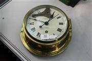 Sale 8261 - Lot 30 - Prouds Sydney Sestrel Porthole Clock