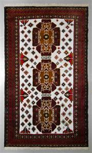 Sale 8539C - Lot 80 - Persian Baluchi 216cm x 116cm