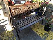 Sale 8801 - Lot 1549 - Outdoor Bench Seat