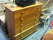 Sale 7974A - Lot 1071 - Pine 5 Drawer Chest