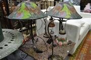 Sale 8161 - Lot 1063 - 2 Pairs of Table Lamps ( 4 items)