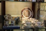 Sale 8189 - Lot 143 - Wedgwood Set of 6 Wild Strawberry Trios with Other Ceramics incl. Royal Worcester Eavesham Ramekins