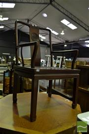 Sale 8499 - Lot 1598 - Chinese Rosewood Carver