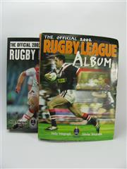 Sale 8200A - Lot 3003 - Rugby League 2002 & 2003 complete card series in two albums. Hundreds of mint cards