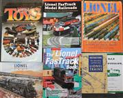 Sale 8376 - Lot 19 - Model Train and Toy Books and Brouchers; Lionel A Collectors Guide and History to Lionel Trains., Vol 1 McComas & Tuohy, 1975. Instr...