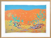 Sale 8382 - Lot 505 - Clifton Pugh (1924 - 1990) - Red Sand Dune 73.5 x 111cm