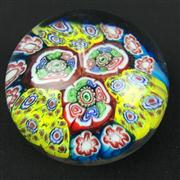 Sale 8402D - Lot 59 - Murano Millefiori Paperweight (Height - 6cm)
