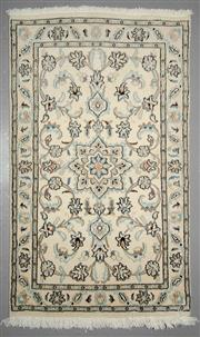 Sale 8539C - Lot 82 - Persian Nain 121cm x 76cm