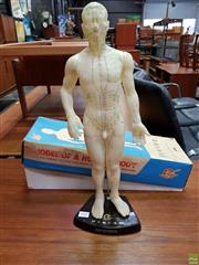 Sale 8607 - Lot 1037 - Rubber Medical Mannequin (H: 52cm)