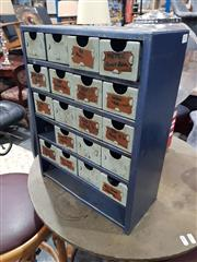 Sale 8863 - Lot 1023 - Small Metal Tool Chest