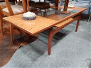 Sale 8801 - Lot 1040 - G Plan Fresco Teak Coffee Table with Glass Insert