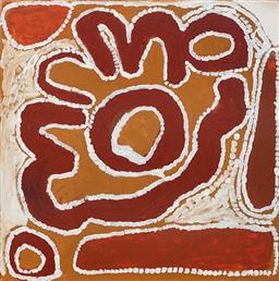 Sale 9092A - Lot 5073 - Cory Surprise (1929 - 2011) - Boolga Jila, 2007 60 x 60 cm (stretched and ready to hang)