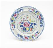 Sale 8844 - Lot 93 - An 1820s Spode plate with chinoiserie design. Diameter 20.5cm