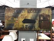 Sale 8859 - Lot 1076 - Vintage Eastern European Trade Sign Undertaker/Carpenter