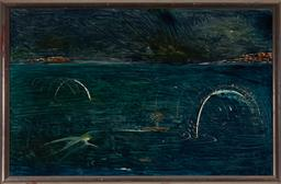 Sale 9150 - Lot 600 - MONTY OSEWALD (1949 - ) - Untitled, 1988 72 x 112 cm (frame: 80 x 120 x 3 cm)