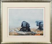 Sale 8296A - Lot 59 - Jorg Schmeisser (1942 - 2012) - Untitled, 1985 (Seascape) 47 x 61cm