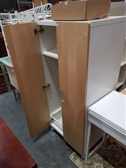 Sale 8777 - Lot 1094 - Modern Cabinet with Two Doors & Internal Drawer