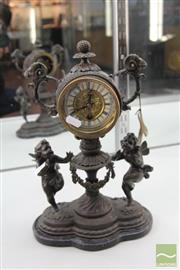 Sale 8217 - Lot 31 - Cherubic Clock