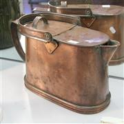 Sale 8236 - Lot 35 - Antique Copper Kettle