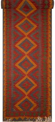 Sale 8447C - Lot 99 - Persian Kilim Runner 470cm x 105cm