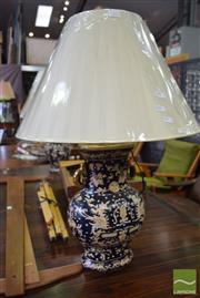 Sale 8532 - Lot 1273 - Pair of Chinese Museum Replica Table Lamps (4228)