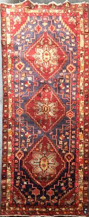 Sale 8740 - Lot 1571 - Persian Hamadan Runner (328 x 125cm)