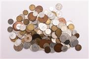 Sale 9018O - Lot 843 - Container of world coins incl. Australian and British examples