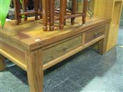 Sale 7974A - Lot 1027 - Timber Coffee Table