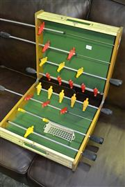 Sale 8013 - Lot 1058 - Small Fold Out Foosball Table