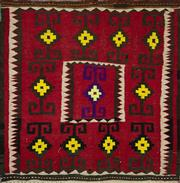 Sale 8345C - Lot 39 - Persian Kilim 130cm x 115cm
