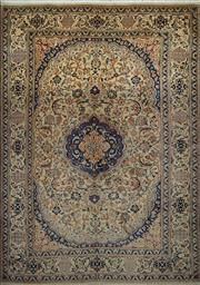 Sale 8402C - Lot 64 - Persian Nain 282cm x 196cm