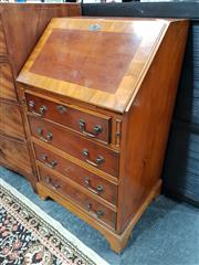 Sale 8680 - Lot 1045 - Drop Front Bureau with Four Drawers