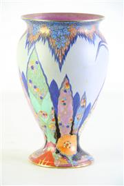 Sale 8972 - Lot 76 - A Carlton Ware Hand Painted Bird Themed Vase (H 20cm)