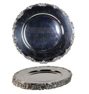 Sale 7937 - Lot 67 - J Hoffman & Sons Silver Plated Trays