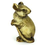 Sale 8304A - Lot 36 - Ivory Carved Netsuke of a Rat