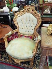 Sale 8566 - Lot 1389 - Pair of French Style Armchairs
