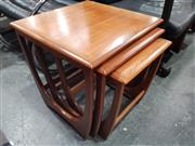 Sale 8723 - Lot 1078 - G Plan Teak Nest of Tables