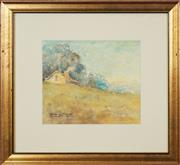 Sale 8753 - Lot 2024 - Georges Millet - Country Cottage 19.5 x 23cm