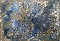Sale 9257A - Lot 5013 - VERA FABRE (1912 - 2002) L'ocean,1961 oil on canvas 65.5 x 92 cm (frame: 66.5 x 93 cm) signed lower right
