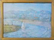 Sale 8068A - Lot 54 - Lloyd Rees - Song to Creation 55 x 73cm