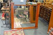 Sale 8138 - Lot 954 - Pair Of Timber Framed Mirrors