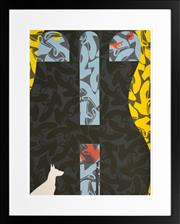 Sale 8296A - Lot 13 - Billy Al Bengston (1934 - ) - BAB 3, 1988 55 x 75cm