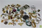 Sale 8512 - Lot 50 - Costume Brooches and Bangles