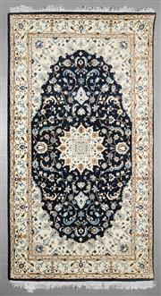 Sale 8539C - Lot 87 - Indo Persian Nain 168cm x 192cm
