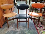 Sale 8566 - Lot 1156 - Set of 5 Matched Dining Chairs