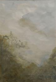 Sale 8699 - Lot 2031 - Lavina S. - Untitled (Landscape) 53 x 36cm