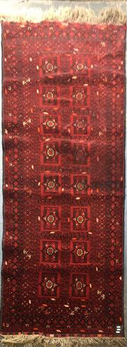 Sale 8740 - Lot 1566 - Afghan Qunduzi (300 x 80cm)
